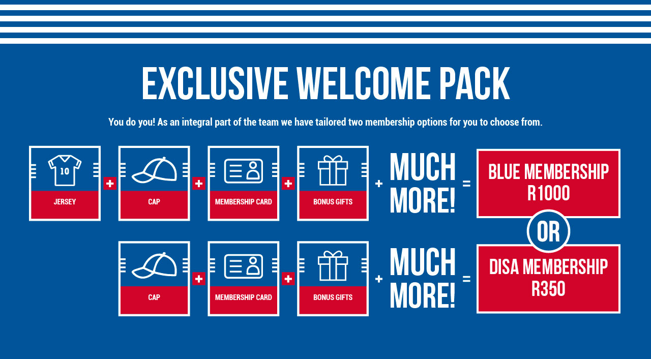 EXCLUSIVE WELCOME PACK