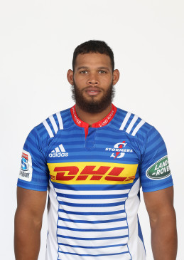 CAPE TOWN,SOUTH AFRICA - JANUARY 11:  Nizaam Carr of the Stormers poses during a portrait session on January 11, 2016 in Cape Town,South Africa. (Photo by Carl Fourie/Gallo Images/Getty Images)