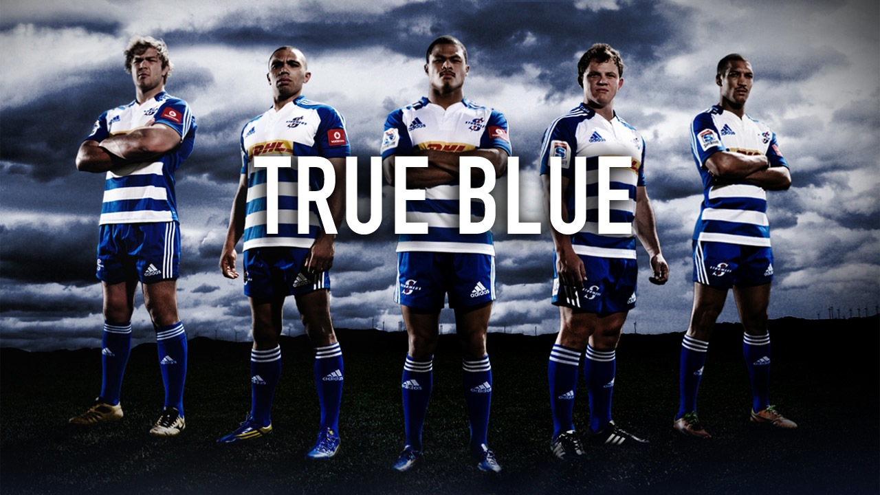 The Stormers True Blue Wall Paper