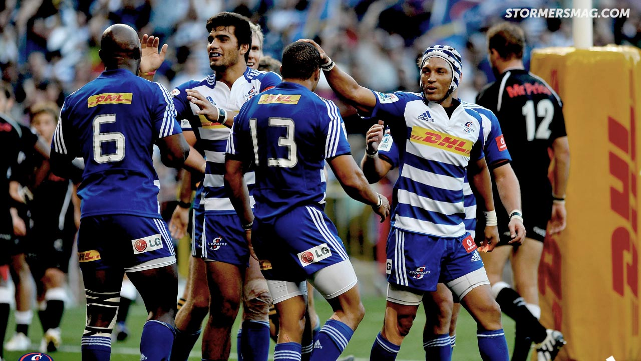 The Stormers Team Try Wallpaper