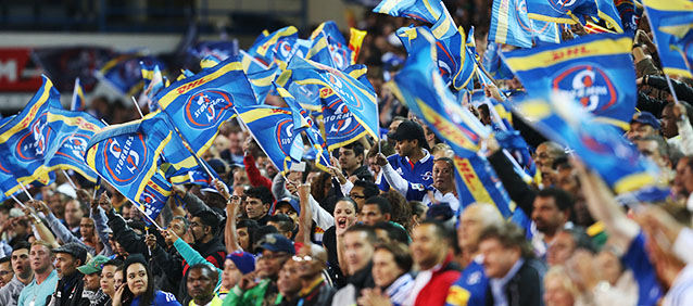 CAPE TOWN, SOUTH AFRICA - APRIL 25: Stormers fans during the Super Rugby match between DHL Stormers and Vodacom Bulls at DHL Newlands Stadium on April 25, 2015 in Cape Town, South Africa. (Photo by Carl Fourie/Gallo Images)