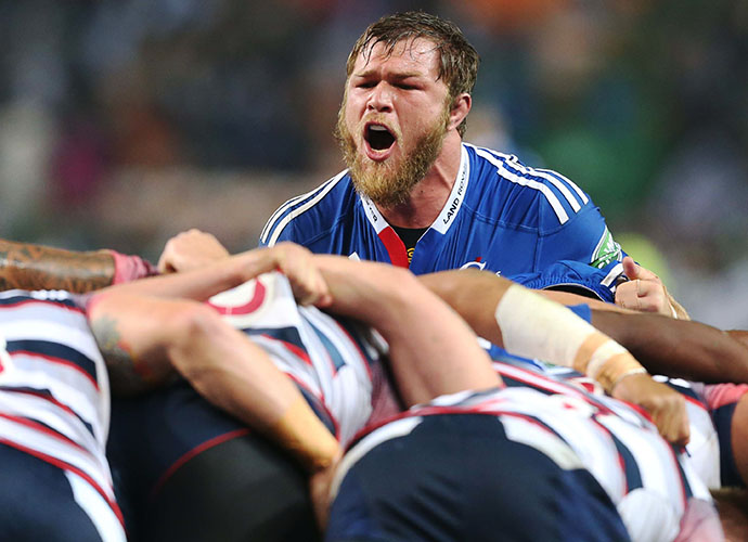 CAPE TOWN, SOUTH AFRICA - MAY 23: Duane Vermeulen of the Stormers during the Super Rugby match between DHL Stormers and Melbourne Rebels at DHL Newlands Stadium on May 23, 2015 in Cape Town, South Africa. (Photo by Carl Fourie/Gallo Images)