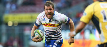 CAPE TOWN, SOUTH AFRICA - MAY 09: Duane Vermeulen of the Stormers during the Super Rugby match between DHL Stormers and Brumbies at DHL Newlands Stadium on May 09, 2015 in Cape Town, South Africa. (Photo by Carl Fourie/Gallo Images)