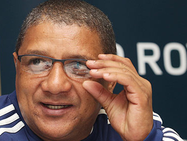 CAPE TOWN, SOUTH AFRICA - JUNE 04: Stormers coach Allister Coetzee during the DHL Stormers training session and press conference at High Performance Centre on June 04, 2015 in Cape Town, South Africa. (Photo by Shaun Roy/Gallo Images)