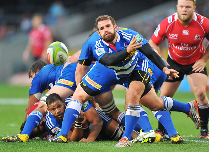 CAPE TOWN, SOUTH AFRICA - JUNE 06: Nic Groom of the Stormers during the Super Rugby match between DHL Stormers and Emirates Lions at DHL Newlands Stadium on June 06, 2015 in Cape Town, South Africa. (Photo by Ashley Vlotman/Gallo Images)