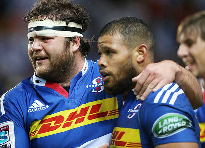 CAPE TOWN, SOUTH AFRICA - JUNE 06: Nizaam Carr of the Stormers during the Super Rugby match between DHL Stormers and Emirates Lions at DHL Newlands Stadium on June 06, 2015 in Cape Town, South Africa. (Photo by Carl Fourie/Gallo Images)