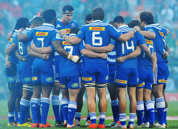 CAPE TOWN, SOUTH AFRICA - JUNE 20: Stormers during the Super Rugby Qualifying Final match between DHL Stormers and Brumbies at DHL Newlands Stadium on June 20, 2015 in Cape Town, South Africa. (Photo by Ashley Vlotman/Gallo Images)